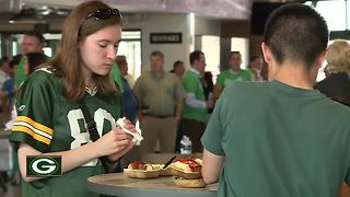 Fans and charities excited for Packers preseason opener - Video