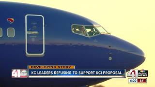 Minority leaders withold KCI terminal support