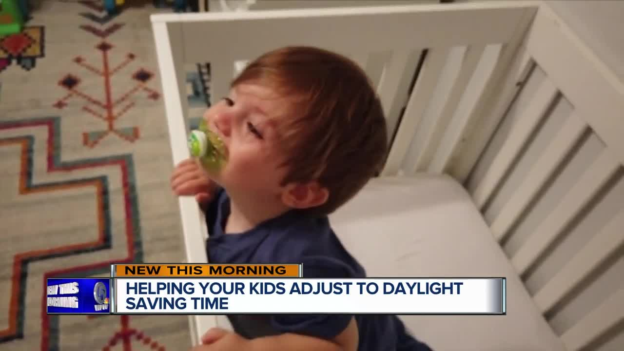 Help your kids adjust to time change