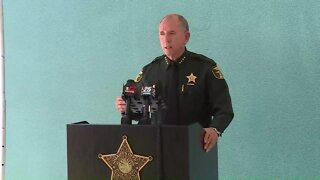 FULL NEWS CONFERENCE: Woman shot and killed at Indiantown home with 6 children inside, Martin County sheriff says