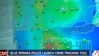 Blue Springs police roll out online crime map - Video