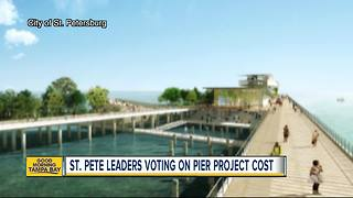 City Council to vote to add $14M to budget for new St. Pete Pier - Video