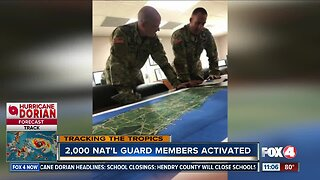 Two thousand National Guard members activated ahead of Hurricane Dorian