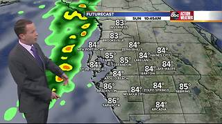 Florida's Most Accurate Forecast with Jason on Sunday, October 8, 2017 - Video