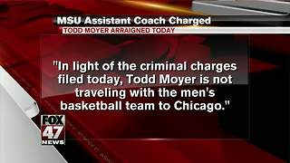 MSU basketball trainer charged in crash that killed two - Video
