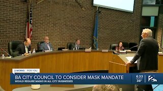 BA City Council to consider mask mandate