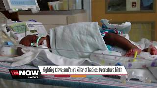 Fighting premature births in Cleveland - Video
