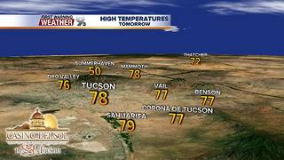 Chief Meteorologist Erin Christiansen's KGUN 9 Forecast Monday, March 5, 2018 - Video