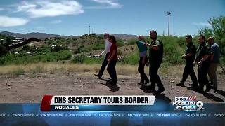 Homeland security chief to visit Arizona-Mexico border