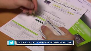 Social Security benefits to rise 2 percent in 2018, biggest increase since 2012 - Video