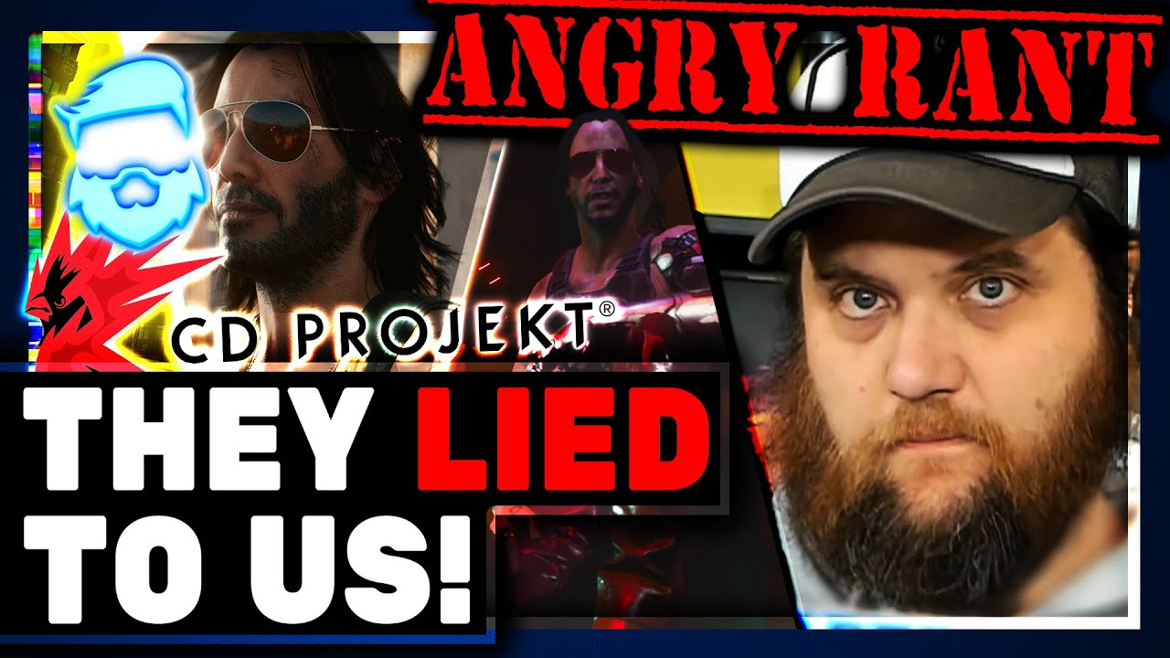 Angry Rant: CDPR KNOWINGLY Lied About Cyberpunk 2077 ...