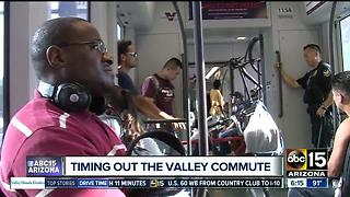 Phoenix among shortest commute times of large metro areas, US Census shows - Video