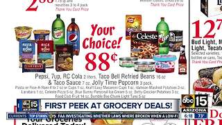 Check out these awesome grocery deals - Video