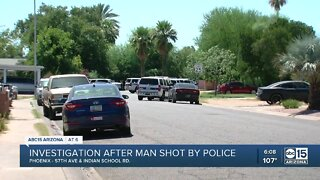 Police investigating officer-involved shooting in Phoenix