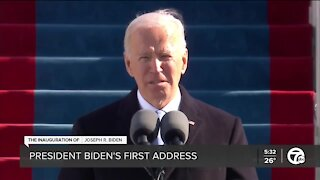 Examining President Biden's first address