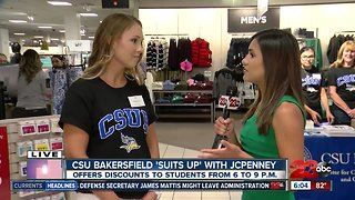 CSU Bakersfield students 'Suit Up' with JCPenney