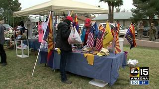People gather for Trump United rally in Phoenix - Video