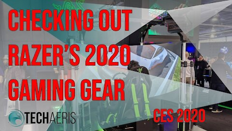 [CES 2020] Let's Check Out Razer's Gaming Gear for 2020