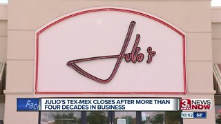 Julio's Tex-Mex closes after more than four decades in business