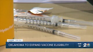 Oklahoma to expand vaccine eligibility