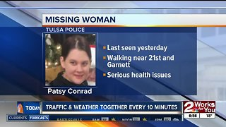 Tulsa police searching for missing woman