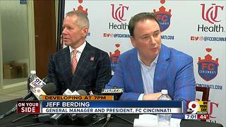 FC Cincinnati looking for infrastructure money - Video