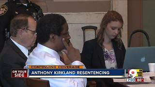 Anthony Kirkland resentencing - Video