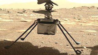 NASA's Ingenuity helicopter touches down on surface of Mars