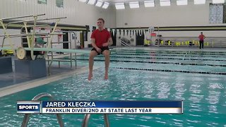 Franklin swim and dive team seeking state title - Video