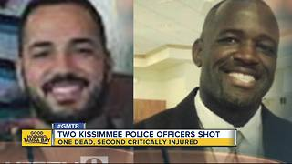 2 Kissimmee officers shot in the line of duty - Video