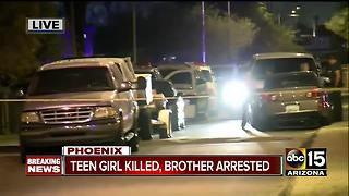 Teenage girl dead, allegedly shot by brother - Video