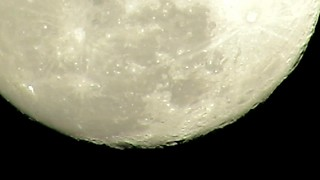 Moon from close up  - Video