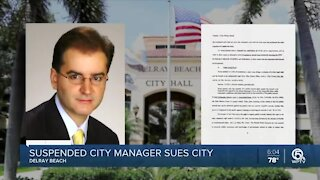 Suspended city manager sues Delray Beach