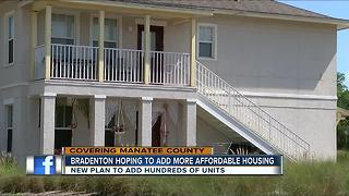 Affordable housing plan proposed in Manatee Co. - Video