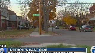U.S. Postal Service Letter Carrier robbed at gunpoint in Detroit - Video