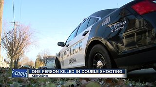One person killed in double shooting in Kenosha