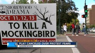 Shorewood High School cancels 'To Kill A Mockingbird' production - Video