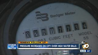 Resident with oddly high water bill gets shut-off notice - Video