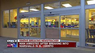 Man arrested after breaking into Marshalls in El Cerrito - Video
