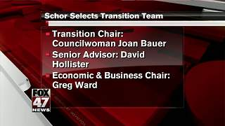 Mayor-Elect Schor announces transition team - Video