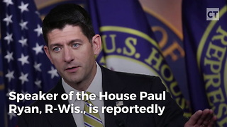 Report: Paul Ryan Is Stepping Down - Video