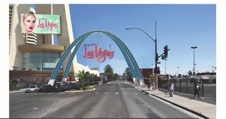 Road closures for Las Vegas arch project