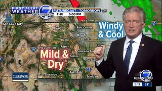 Warmer through Saturday, cool and wet on Easter