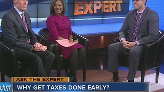 Ask the Expert: Get your taxes done - Video