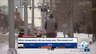 Bitter cold drives heating prices up - Video