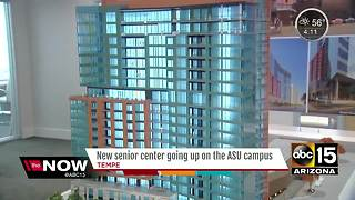 Senior center going up on ASU campus - Video