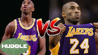 8 vs 24: Which Version of Kobe Bryant Was Better? -The Huddle - Video