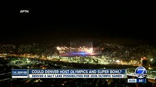 Winter Games in Denver or Salt Lake City? Preliminary talks underway