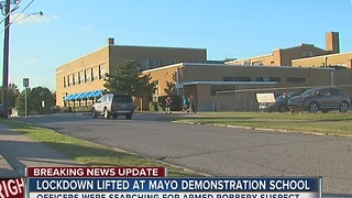 Lockdown Lifted At Mayo Demonstration School - Video
