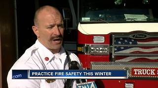 Practice Fire Safety This Winter - Video